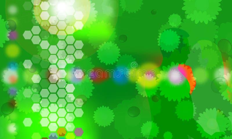 Download Induza o verde 2 ilustração stock. Ilustração de amor, flores - 525628