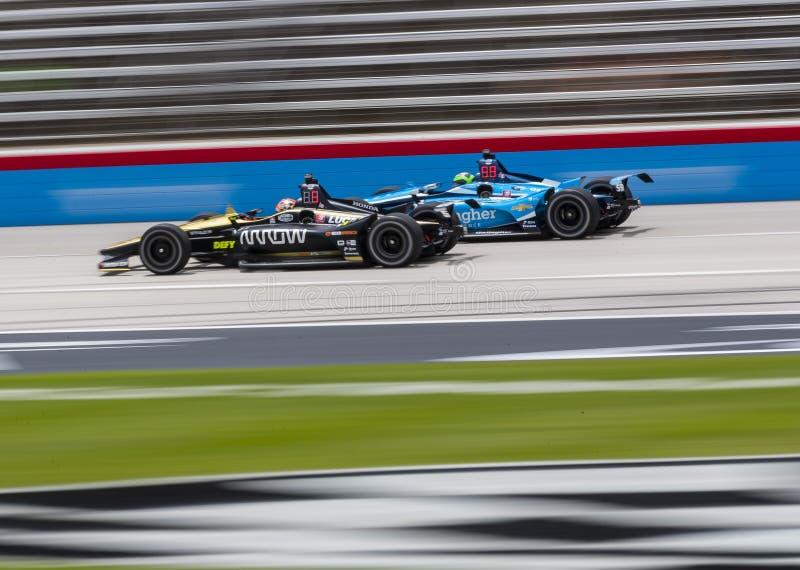 IndyCar:6月07日DXC技术600 图库摄影