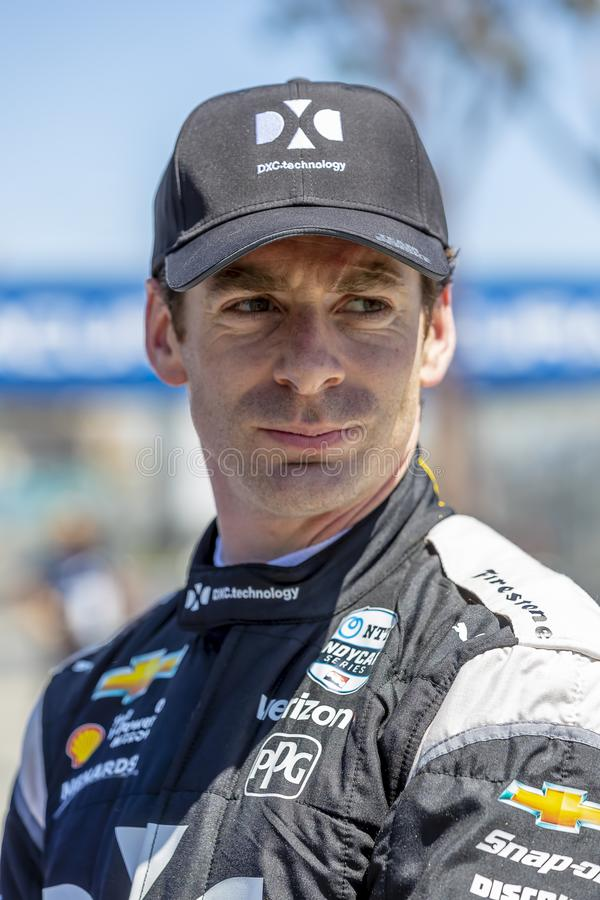 IndyCar:  April 13 Acura Grand Prix Of Long Beach. April 13, 2019 - Long Beach, California, USA: SIMON PAGENAUD 22 of France prepares to qualify for the Acura stock images