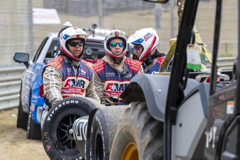 IndyCar: 06 april Honda Indy Grand Prix van Alabama royalty-vrije stock foto