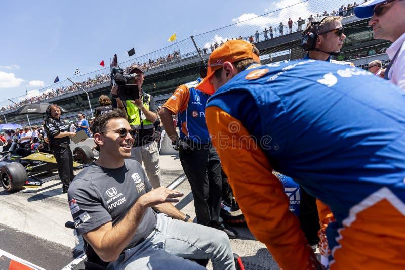 IndyCar: Am 18. April Indianapolis 500 stockfotografie