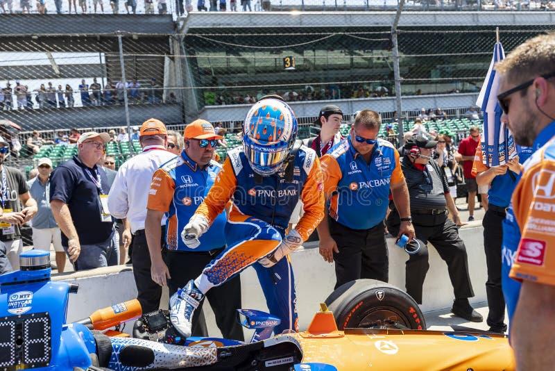 IndyCar: Am 18. April Indianapolis 500 stockfotos