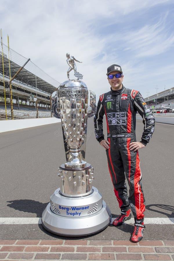IndyCar: 19 de maio Indianapolis 500 imagens de stock