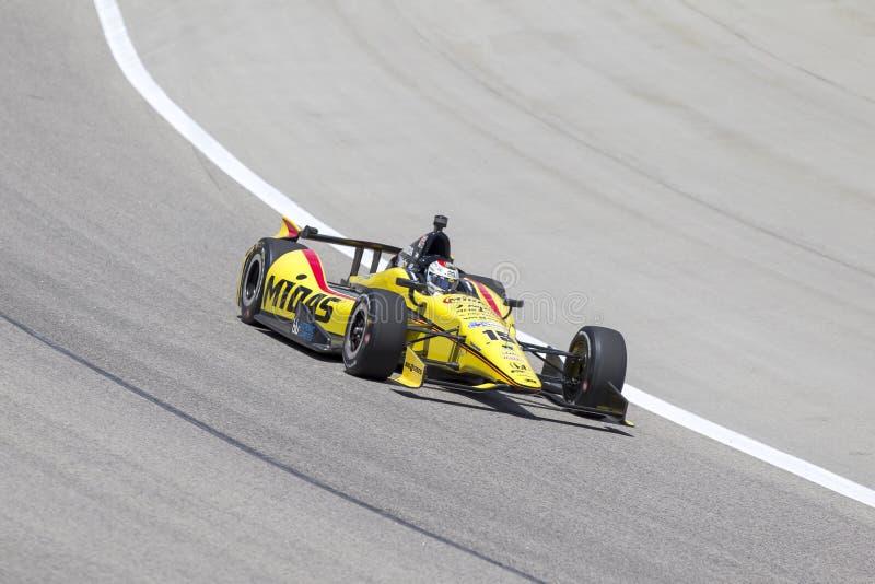 IndyCar 2013:  Firestone серии IZOD IndyCar 7-ое июня 550 стоковые изображения