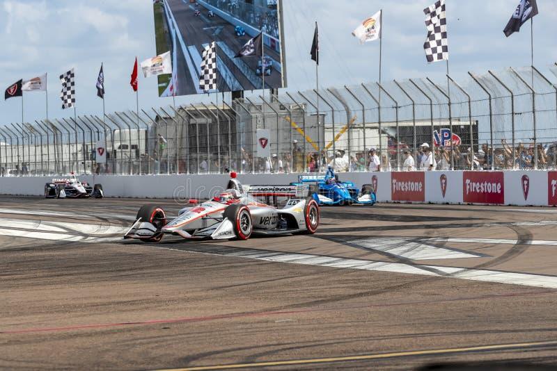 IndyCar: Firestone Grand Prix 10-ое марта Санкт-Петербурга стоковая фотография