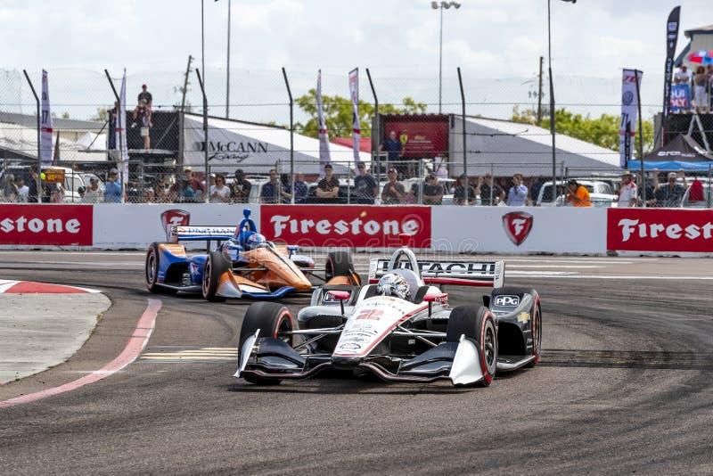 IndyCar: Firestone Grand Prix 10-ое марта Санкт-Петербурга стоковые фотографии rf