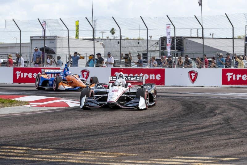 IndyCar: Firestone Grand Prix 10-ое марта Санкт-Петербурга стоковые фото