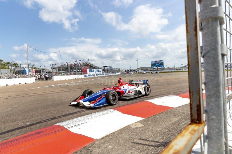IndyCar: Firestone Grand Prix 10-ое марта Санкт-Петербурга стоковое фото rf