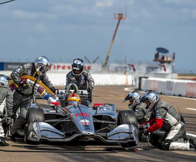 IndyCar: Firestone Grand Prix 10-ое марта Санкт-Петербурга стоковое изображение rf