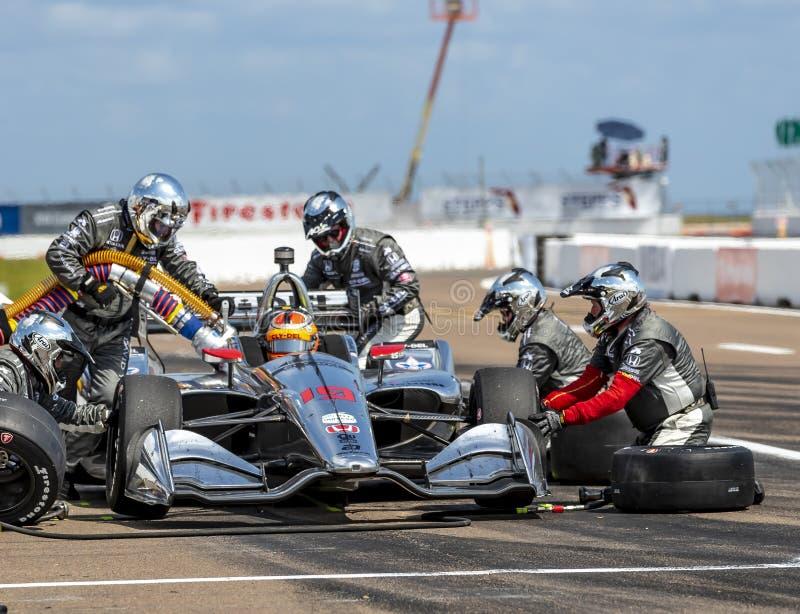 IndyCar: Firestone Grand Prix 10-ое марта Санкт-Петербурга стоковое фото