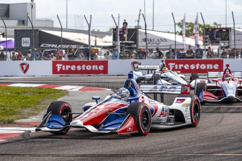 IndyCar: Firestone Grand Prix 10-ое марта Санкт-Петербурга стоковое изображение