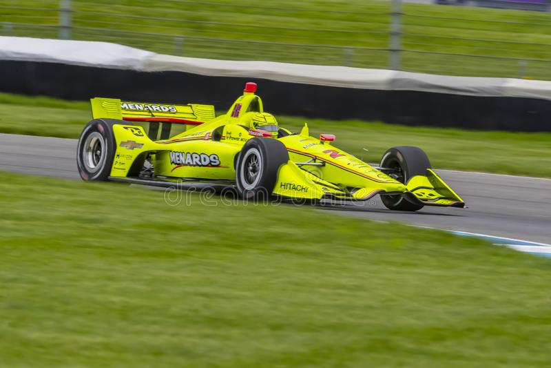 IndyCar: Grand Prix IndyCar στις 10 Μαΐου της Ινδιανάπολης στοκ φωτογραφίες με δικαίωμα ελεύθερης χρήσης