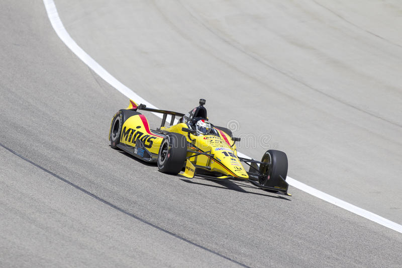 IndyCar 2013: IZOD IndyCar Series Firestone 550 June 07 stock images