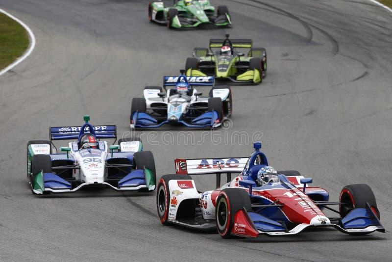 IndyCar: Am 29. Juli Honda Indy 200 stockfoto