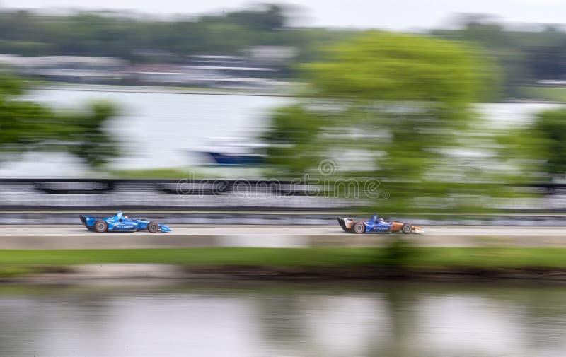 IndyCar: June 03 Detroit Grand Prix stock images