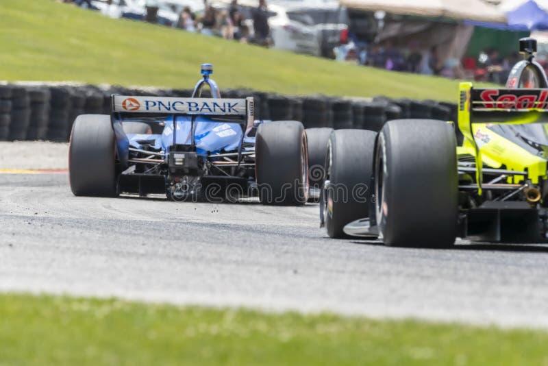 IndyCar:  June 23 REV Group Grand Prix royalty free stock photo