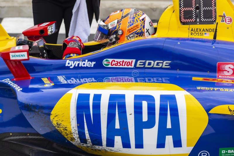 IndyCar: Juni 23 VARV Group Grand Prix arkivfoto