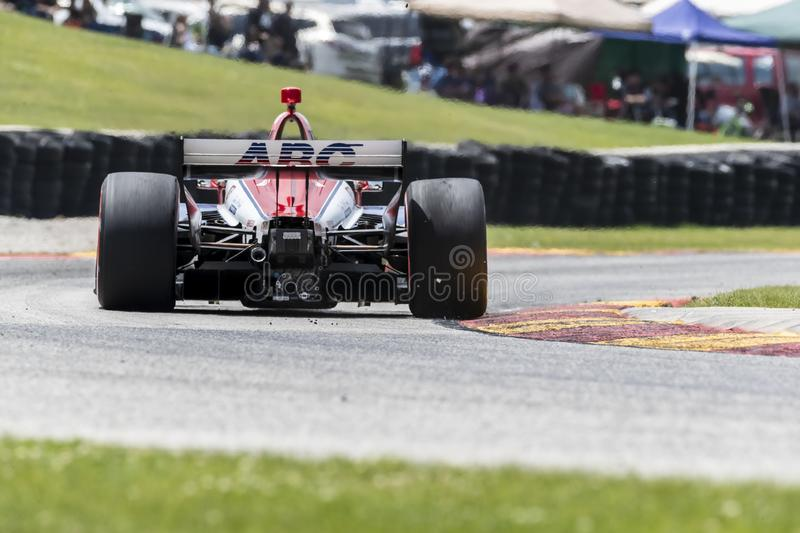 IndyCar: Juni 23 VARV Group Grand Prix royaltyfri fotografi