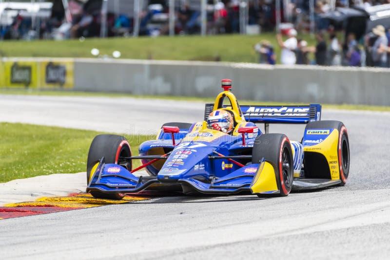 IndyCar: Juni 23 VARV Group Grand Prix royaltyfri foto