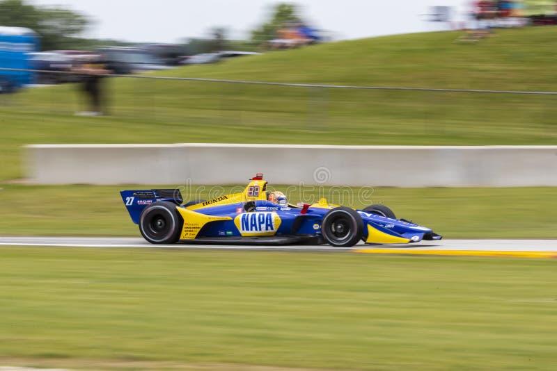 IndyCar: Juni 23 VARV Group Grand Prix arkivbild