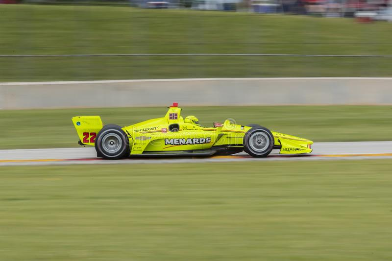 IndyCar: Juni 23 VARV Group Grand Prix arkivfoto
