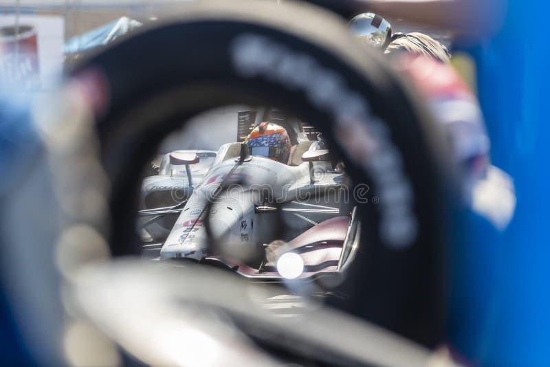 IndyCar: Lipiec 14 Honda Indy Toronto obraz royalty free