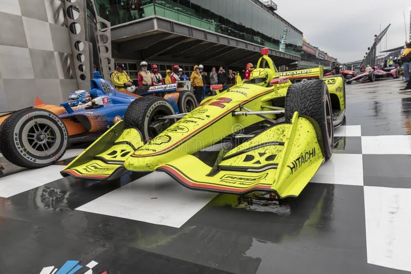 IndyCar: Am 11. Mai IndyCar Grand Prix von Indianapolis lizenzfreies stockbild