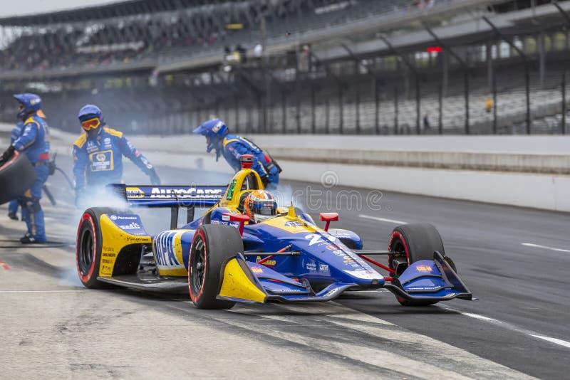 IndyCar: Am 11. Mai IndyCar Grand Prix von Indianapolis lizenzfreie stockfotos