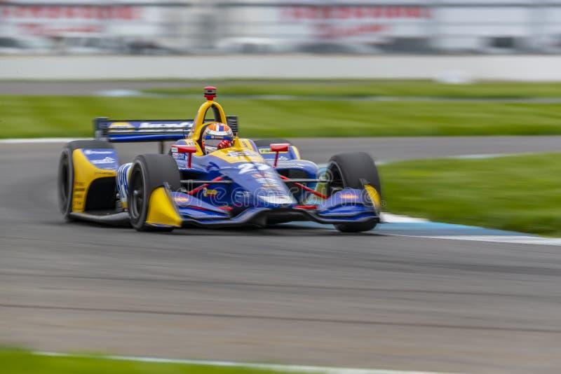 IndyCar: Am 10. Mai IndyCar Grand Prix von Indianapolis lizenzfreies stockbild