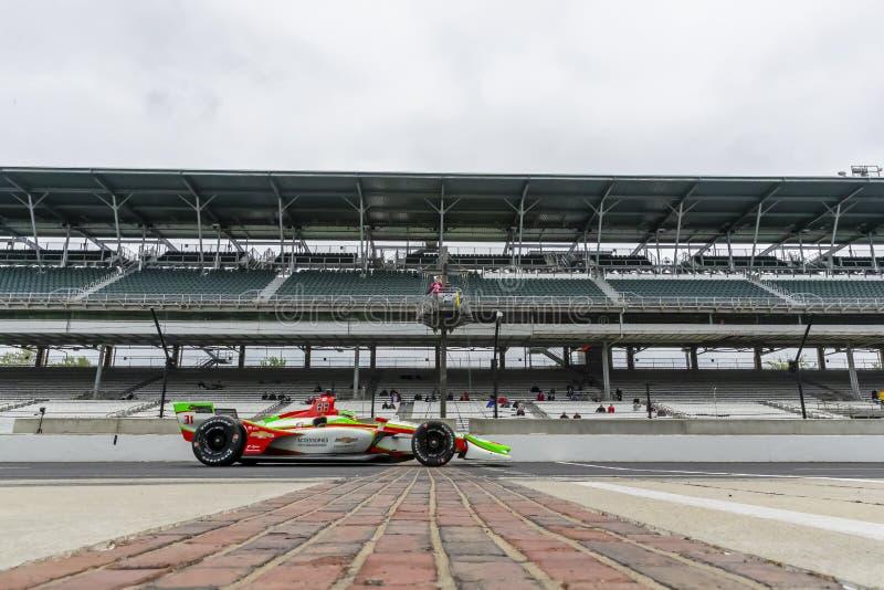 IndyCar: Am 10. Mai IndyCar Grand Prix von Indianapolis stockbilder