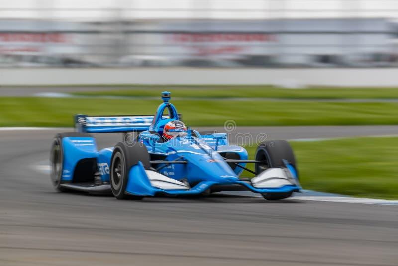 IndyCar: Am 10. Mai IndyCar Grand Prix von Indianapolis stockfotografie