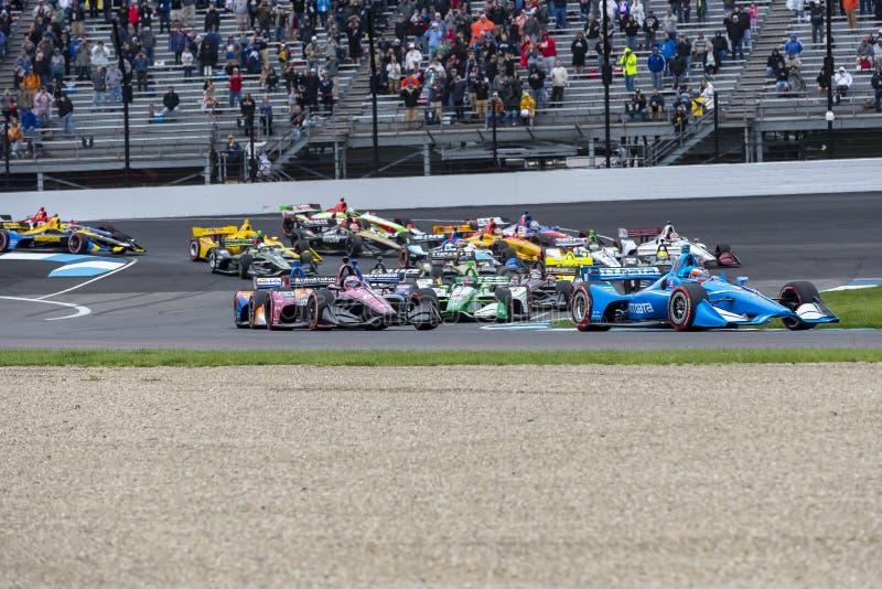 IndyCar: Am 11. Mai IndyCar Grand Prix von Indianapolis stockfotografie