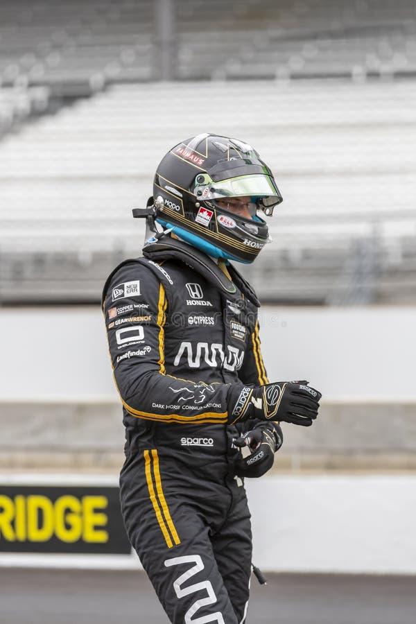 IndyCar: Am 10. Mai IndyCar Grand Prix von Indianapolis stockfoto
