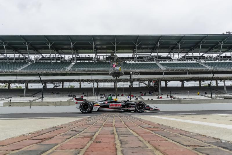 IndyCar: Am 10. Mai IndyCar Grand Prix von Indianapolis stockbild