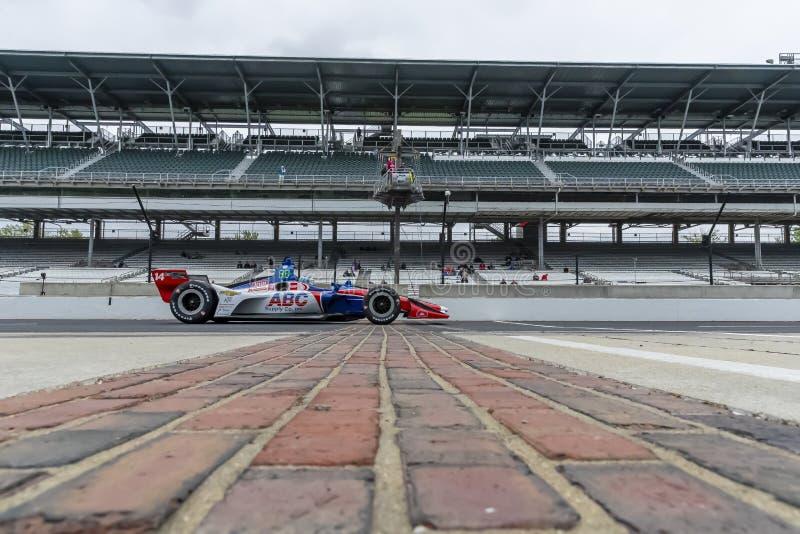 IndyCar: Am 10. Mai IndyCar Grand Prix von Indianapolis lizenzfreie stockbilder