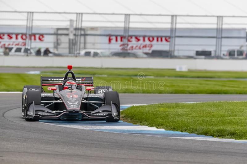 IndyCar: Am 10. Mai IndyCar Grand Prix von Indianapolis lizenzfreie stockfotos