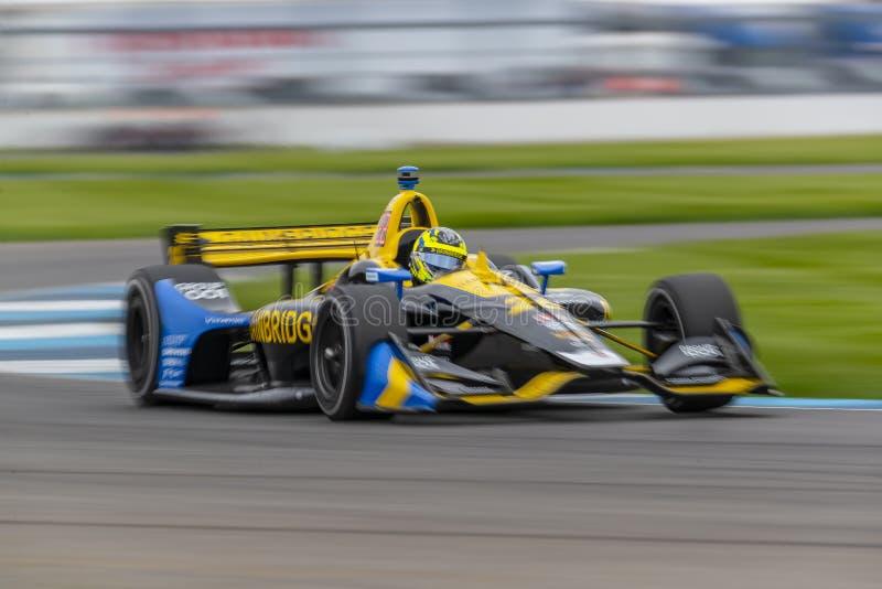IndyCar: Am 10. Mai IndyCar Grand Prix von Indianapolis stockfotos