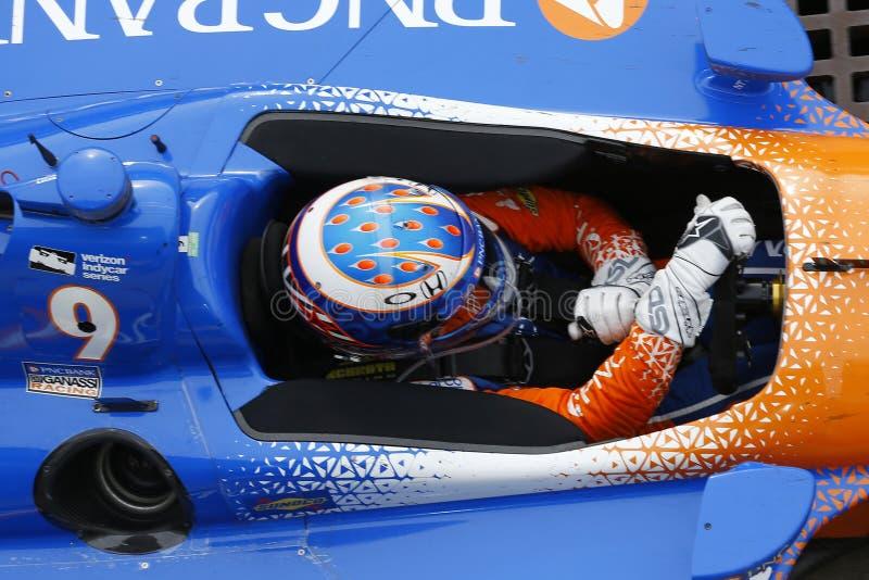 IndyCar: Am 12. Mai IndyCar Grandprix stockbilder