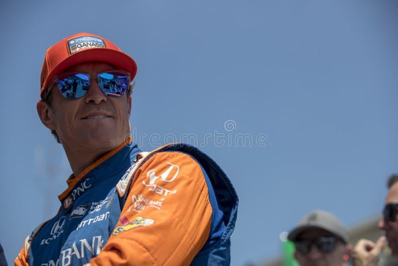 IndyCar: Am 25. Mai Indianapolis 500 lizenzfreies stockbild