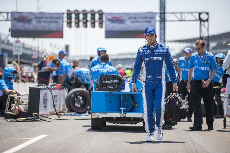 IndyCar: Am 25. Mai Indianapolis 500 stockbild