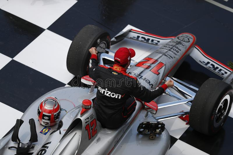 IndyCar: Am 27. Mai Indianapolis 500 stockfoto