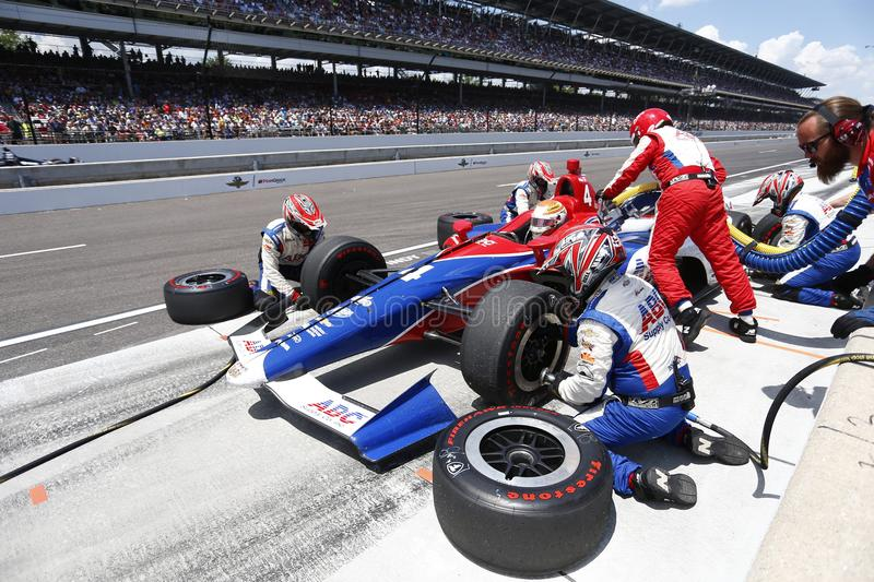 IndyCar: Am 27. Mai Indianapolis 500 stockbild
