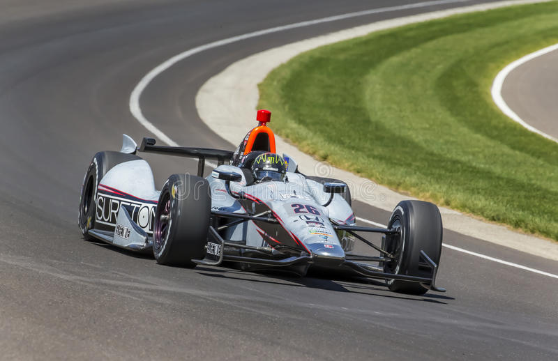 IndyCar: Am 18. Mai Indianapolis 500 lizenzfreies stockbild