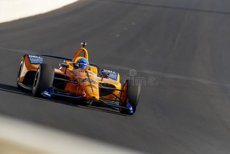 IndyCar: Am 18. Mai Indianapolis 500 stockfotografie
