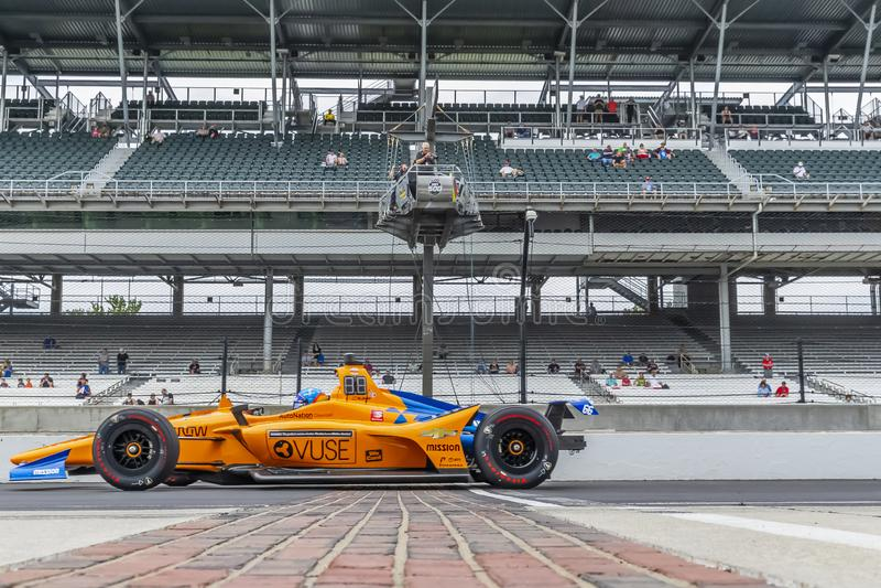 IndyCar: Am 17. Mai Indianapolis 500 lizenzfreies stockbild