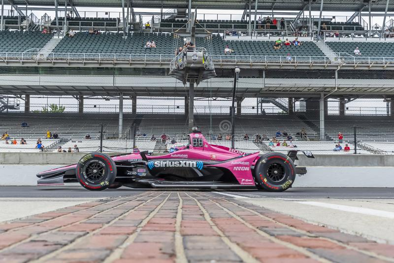 IndyCar: Am 17. Mai Indianapolis 500 lizenzfreies stockfoto