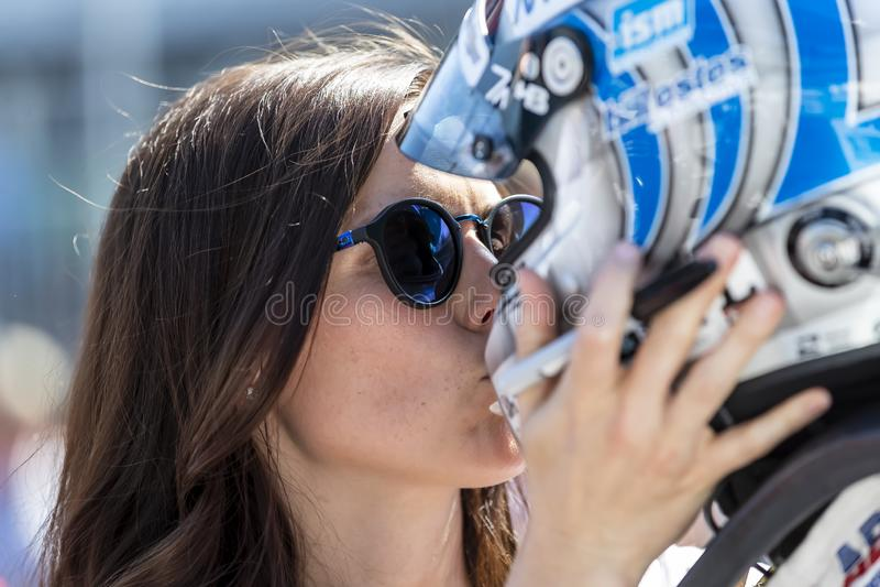 IndyCar: Am 18. Mai Indianapolis 500 lizenzfreie stockbilder
