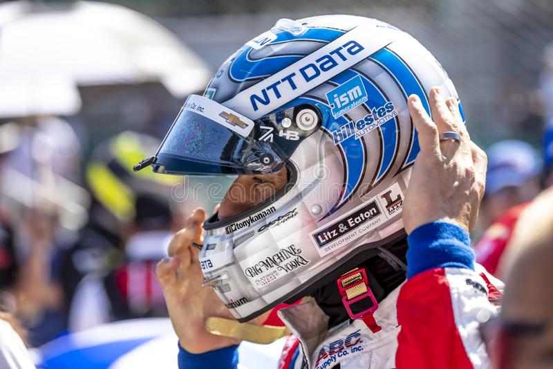 IndyCar: Am 18. Mai Indianapolis 500 stockfoto
