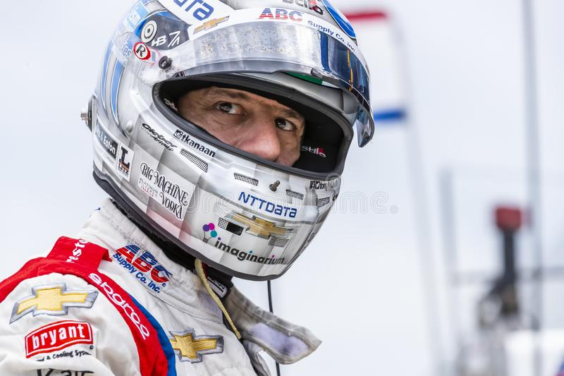 IndyCar: Am 17. Mai Indianapolis 500 stockfoto
