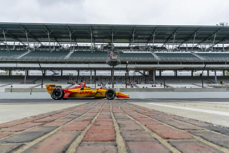 IndyCar: Maj 10 IndyCar Grand Prix av Indianapolis royaltyfri fotografi